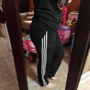 Pants - Three Stripe Adidas Neo Jogger Pants